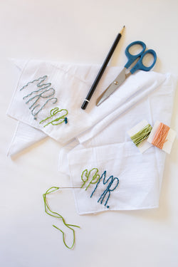 Private Handkerchief Embroidery Workshop