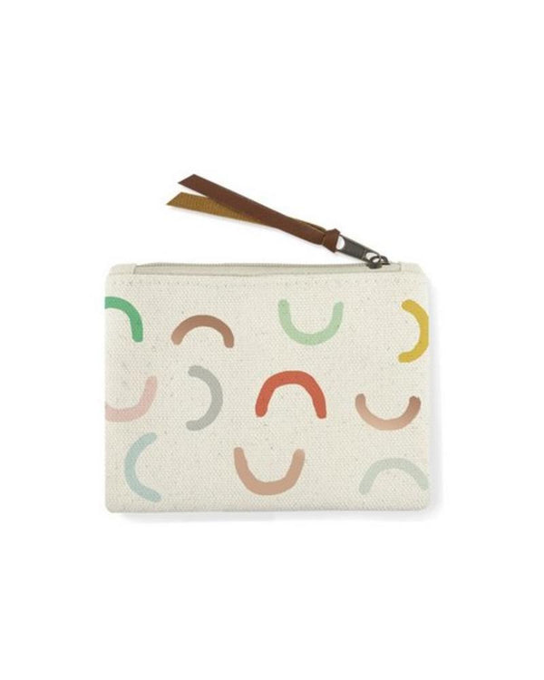 Canvas Arc Coin Pouch