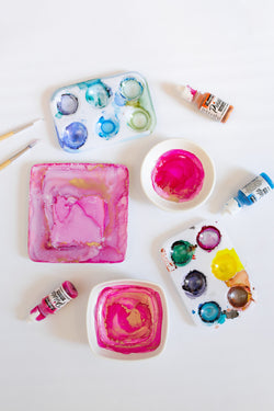 Private Painting Workshop: Alcohol Ink Trinket Dishes