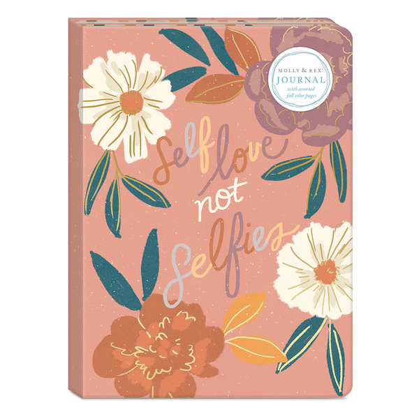 Self Love Not Selfies Soft Cover Journal