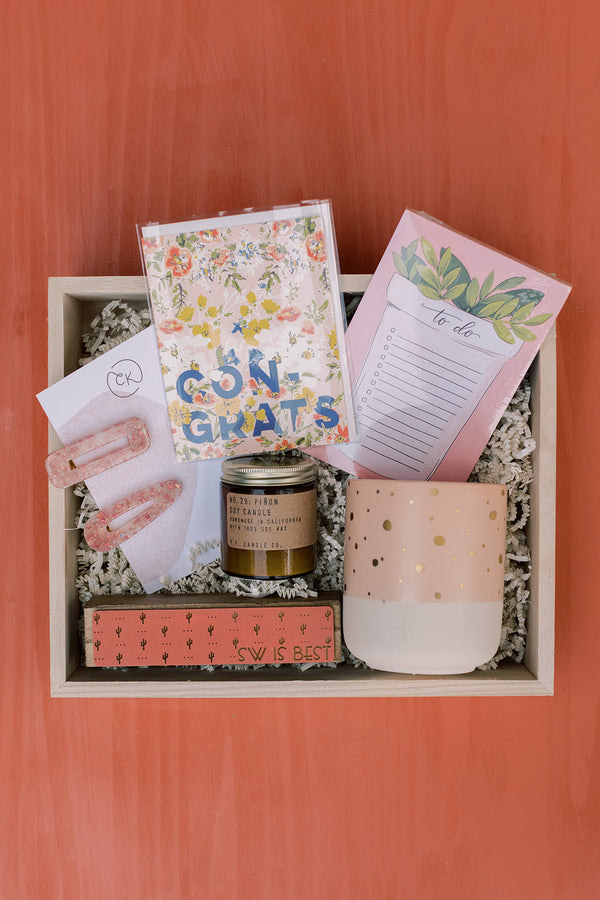 Congrats: Built For You Gift Box