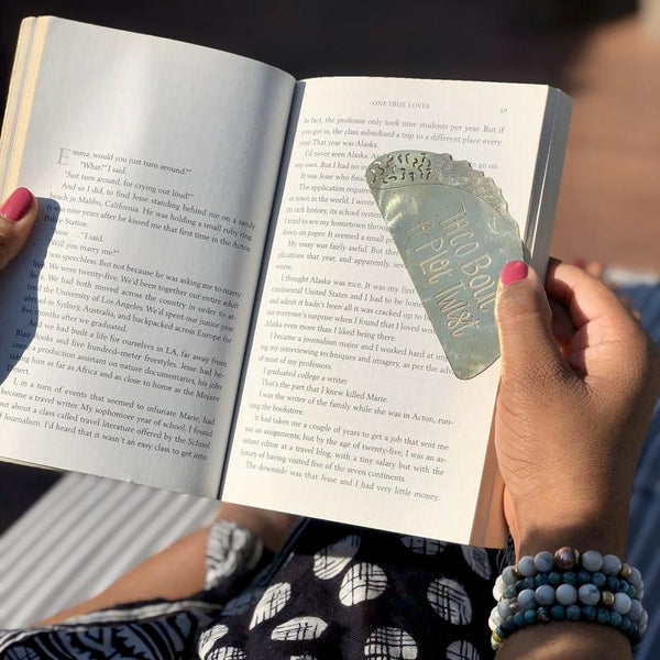 Taco Brass Bookmark