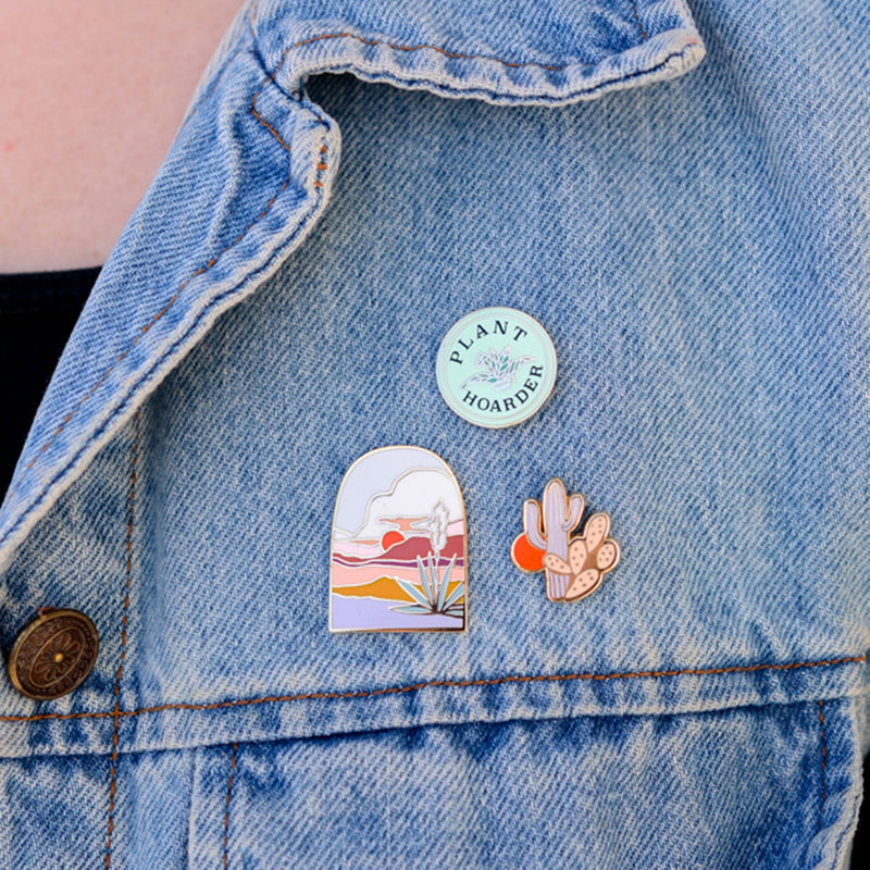 Little Cactus Enamel Pin