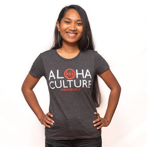 Maui Built Aloha Culture Women's T-Shirt