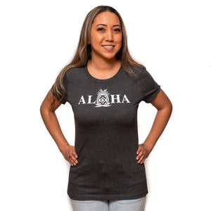 Maui Built Aloha Pineapple Women's T-Shirt