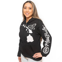 Load image into Gallery viewer, Maui Built Women's Butterfly Logo Jacket