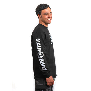 Maui Built Circle Logo Long Sleeve T-shirt