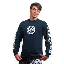 Load image into Gallery viewer, Maui Built Circle Logo Long Sleeve T-shirt
