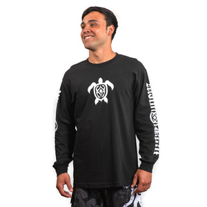 Maui Built Hawaiian Turtle Long Sleeve T-shirt