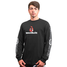 Load image into Gallery viewer, Maui Built Makau Hawaiian Hook Logo Long Sleeve T-shirt