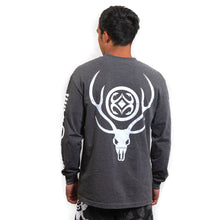 Load image into Gallery viewer, Maui Built Deer Skull Logo Long Sleeve T-shirt