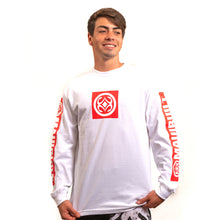 Load image into Gallery viewer, Maui Built Red Bar Logo Long Sleeve T-shirt