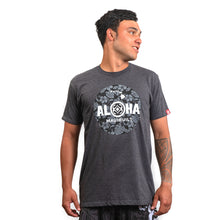 Load image into Gallery viewer, Maui Built Floral Aloha Circle Logo Modern Fit T-shirt