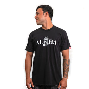Maui Built Aloha Pineapple Modern Fit T-shirt