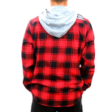 Load image into Gallery viewer, Maui Built Hooded Flannel Shirt
