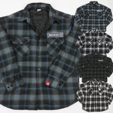 Maui Built Insulated Flannel Jacket