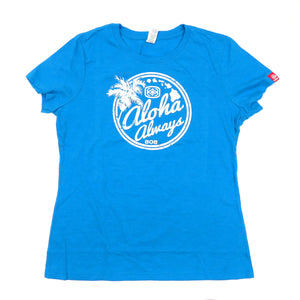 Maui Built Aloha Always Women's T-Shirt