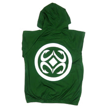 Load image into Gallery viewer, Maui Built Logo Zip Hoodie Jacket - Green
