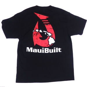 Maui Built Makau Hawaiian Hook Logo Classic Fit T-shirt