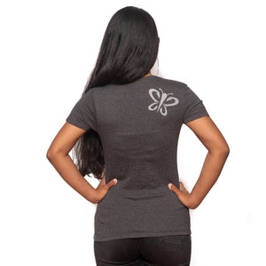 Maui Built Hawaiian Island Chain Butterfly Logo Women's T-Shirt