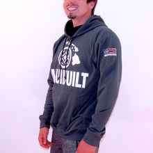 Load image into Gallery viewer, Maui Built Logo Pull Over Hoody Jacket - Charcoal