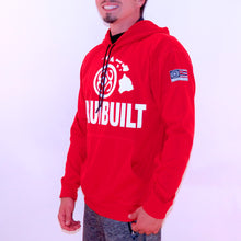Load image into Gallery viewer, Maui Built Logo Pull Over Hoody Jacket - Red