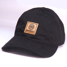 Load image into Gallery viewer, Maui Built Square Patch Black Buckle Back Cap