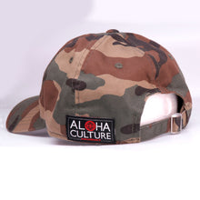 Load image into Gallery viewer, Maui Built Red Bar Camo Buckle Back Cap