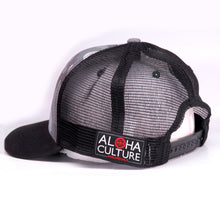 Load image into Gallery viewer, Maui Built Hex Patch Grey Camo Meshback Cap