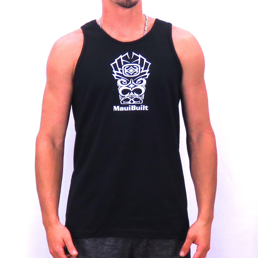 Maui Built Tiki Logo Tank Top