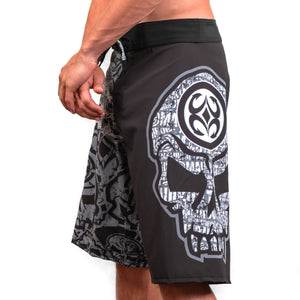 Maui Built Skull Logo Board Short