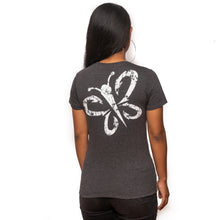 Load image into Gallery viewer, Maui Built Butterfly Logo Women's T-Shirt