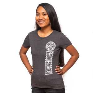 Maui Built Hawaiian Turtle Tribal Women's T-Shirt