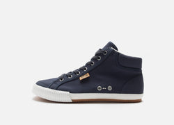 Navy Canvas Sneaker