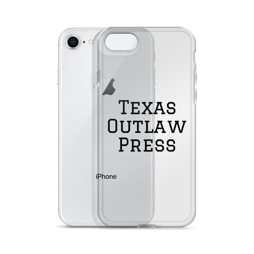Texas Outlaw Press iPhone Case