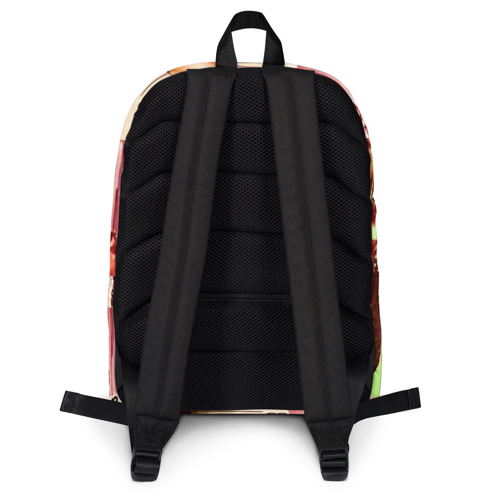Texas Outlaw Press Mugshot 001 Backpack