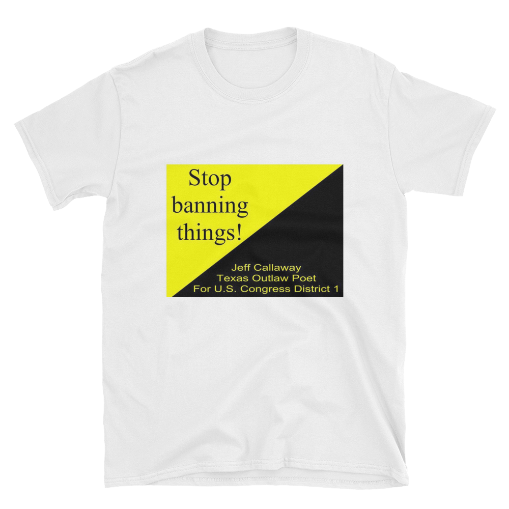 Stop Banning Things! T-Shirt