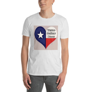 Texas Outlaw Press Heart Logo Short-Sleeve Unisex T-Shirt