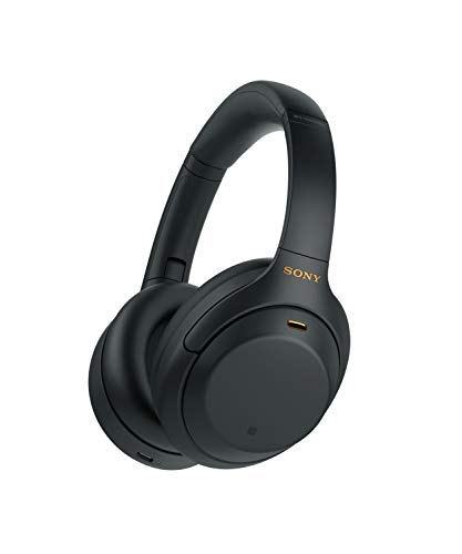 Sony Wireless Noise Canceling Overhead Headphones with Mic and Alexa Voice Control