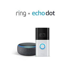 New Ring Video Doorbell 3 with Echo Dot