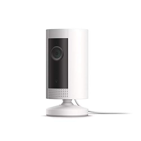 Ring Indoor Camera, Compact Plug-In HD Security Camera With Two-Way Talk (Alexa Compatible)