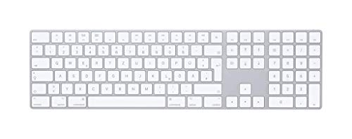 Apple Magic Keyboard with Numeric Keypad (Wireless, Rechargable)
