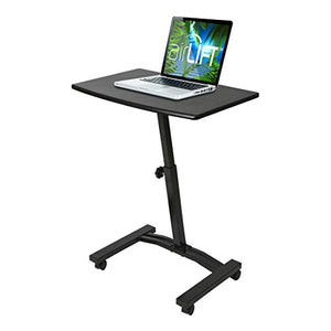 Adjustable Mobile Laptop Desk Cart