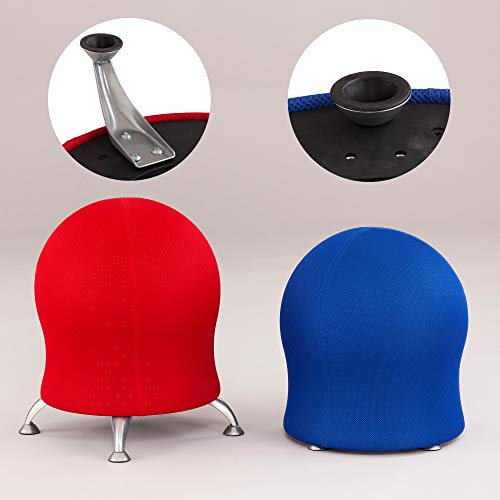 Active Seating Zenergy Ball Chair - Good Posture, Core Muscle Strength and Increase Concentration