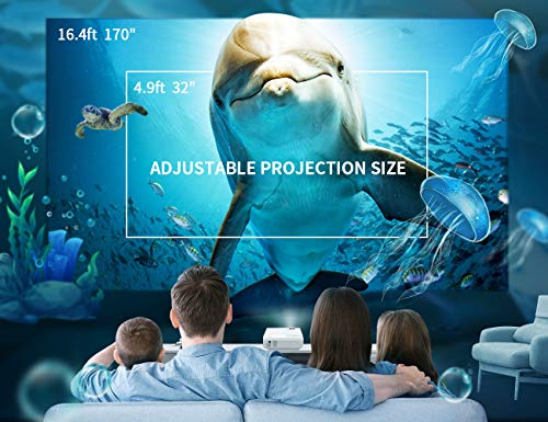 VANKYO LEISURE 3 Mini Portable Projector With 1080P and 170'' Display Supported