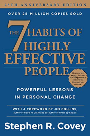 The 7 Habits of Highly Effective People: Powerful Lessons in Personal Change Book by Stephen R. Covey