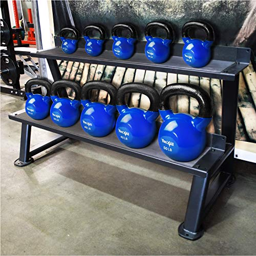 Coated Kettlebells Weight - Multiple Weights Available