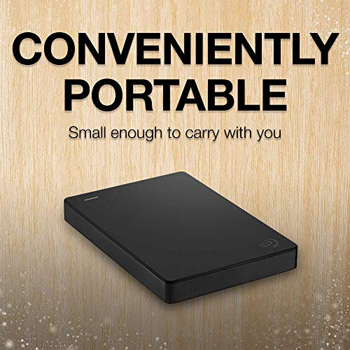 Seagate Portable 2TB External Hard Drive Portable HDD – USB 3.0 for PC, Mac, PS4 and Xbox