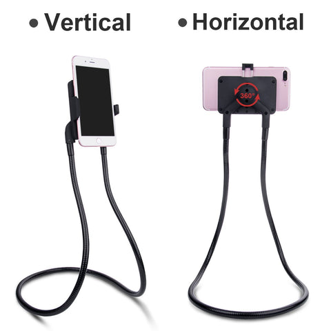 universal neck mobile cell phone holder