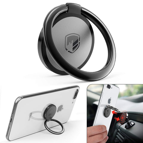 Magnetic Phone Ring Holder and Kickstand